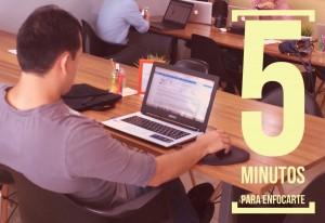 Sólo necesitas 5 minutos para concentrarte en una tarea.